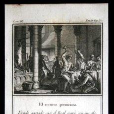 Arte: 1841 GRABADO - ALONSO X - TRIBUTOS - RECURSO PERNICIOSO - 168X96MM. Lote 107495603