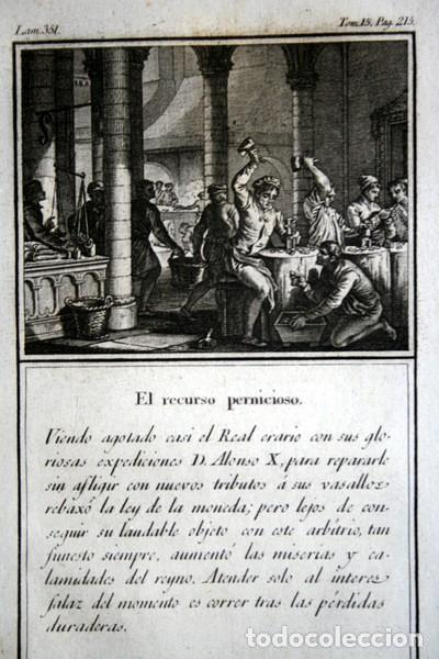 Arte: 1841 GRABADO - ALONSO X - TRIBUTOS - RECURSO PERNICIOSO - 168x96mm - Foto 2 - 107495603