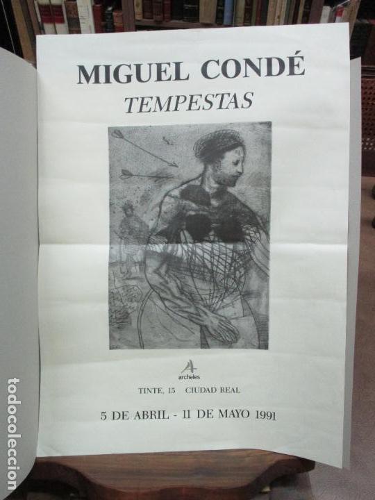 TEMPESTAS. MIGUEL CONDÉ. 1991. 6 AGUAFUERTES ORIGINALES FIRMADOS. EJEMPLAR PRUEBA DE ARTISTA. (Arte - Grabados - Contemporáneos siglo XX)
