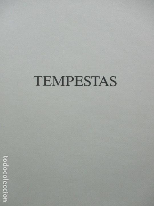 Arte: TEMPESTAS. MIGUEL CONDÉ. 1991. 6 AGUAFUERTES ORIGINALES FIRMADOS. EJEMPLAR PRUEBA DE ARTISTA. - Foto 3 - 107918031