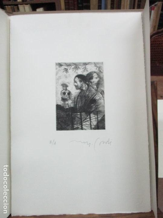 Arte: TEMPESTAS. MIGUEL CONDÉ. 1991. 6 AGUAFUERTES ORIGINALES FIRMADOS. EJEMPLAR PRUEBA DE ARTISTA. - Foto 5 - 107918031