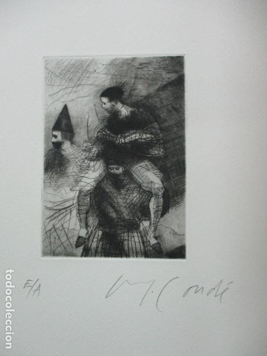 Arte: TEMPESTAS. MIGUEL CONDÉ. 1991. 6 AGUAFUERTES ORIGINALES FIRMADOS. EJEMPLAR PRUEBA DE ARTISTA. - Foto 8 - 107918031