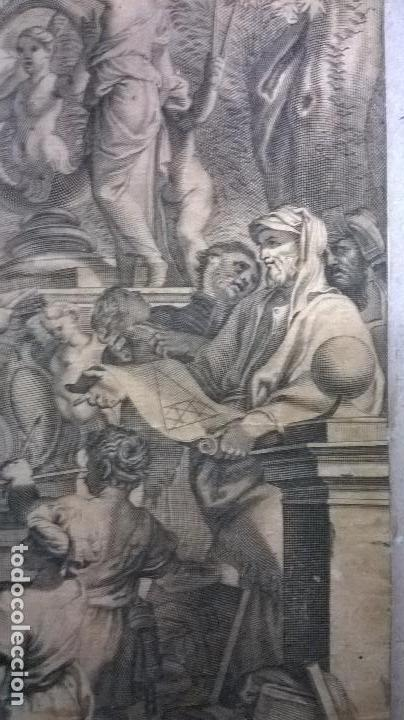 Arte: Grabado antiguo.Medida 19x26 cm - Foto 2 - 108389783