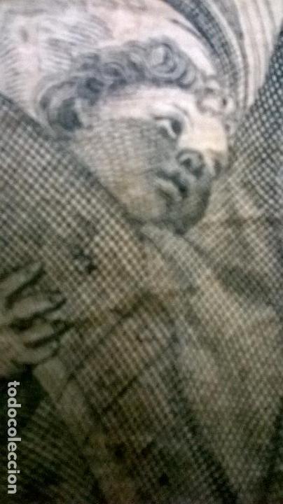 Arte: Grabado antiguo.Medida 19x26 cm - Foto 4 - 108389783