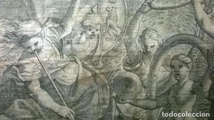 Arte: Grabado antiguo.Medida 19x26 cm - Foto 5 - 108389783