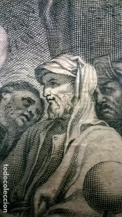 Arte: Grabado antiguo.Medida 19x26 cm - Foto 6 - 108389783