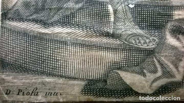 Arte: Grabado antiguo.Medida 19x26 cm - Foto 7 - 108389783