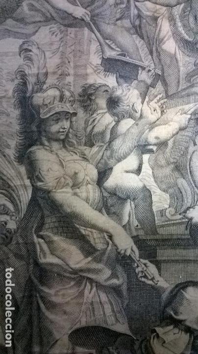 Arte: Grabado antiguo.Medida 19x26 cm - Foto 9 - 108389783