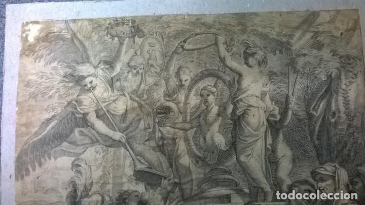 Arte: Grabado antiguo.Medida 19x26 cm - Foto 10 - 108389783