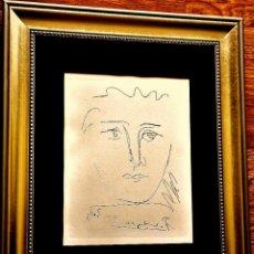 Arte - POUR ROBY O L'AGE DE SOLEIL. PICASSO. GRABADO ORIGINAL CERTIFICADO (TIRADA 200 IMPRESIONES) - 108412387