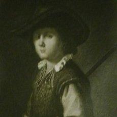 Arte: FRANCISCO DE ZURBARÁN. GRABADO DE 1794.. Lote 108697535