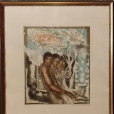 Arte: ISMAIL COBAN: EL PLACER (1984) / AGUAFUERTE FIRMADO Y NUMERADO A LÁPIZ. Lote 53614489