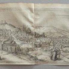 Arte: 1575 GRABADO VISTA MAPA DE BURGOS CIVITATES ORBIS TERRARUM (BRAUN HOGENBERG). Lote 108841135