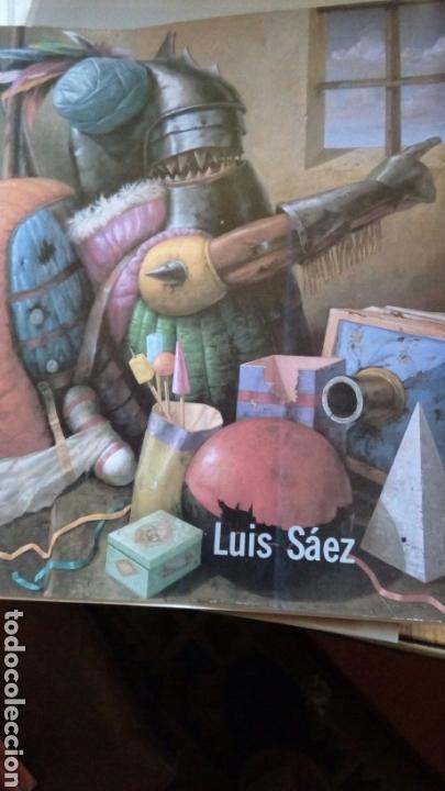 Arte: Grabado punta seca de Luis Sáez, Homenaje a Millares, firmado y numerado 7 de 15 - Foto 11 - 109256299