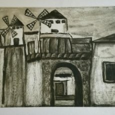 Arte: GRABADO DE RAMIRO UNDABEYTIA. Lote 109546223