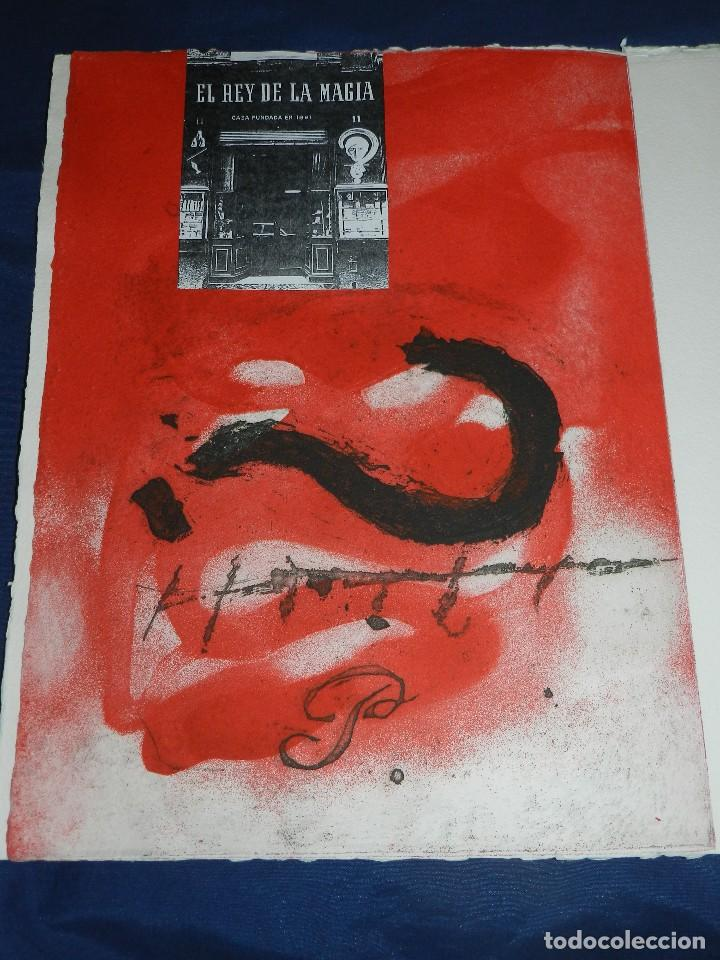 Arte: (M) EL REY DE LA MAGIA JOAN BROSSA - ANTONI TAPIES CONTIENE 3 AGUAFUERTES DE ANTONI TAPIES 75 EJEM - Foto 2 - 209984887