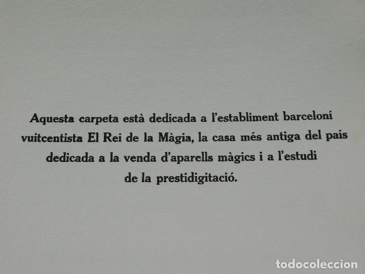 Arte: (M) EL REY DE LA MAGIA JOAN BROSSA - ANTONI TAPIES CONTIENE 3 AGUAFUERTES DE ANTONI TAPIES 75 EJEM - Foto 4 - 209984887