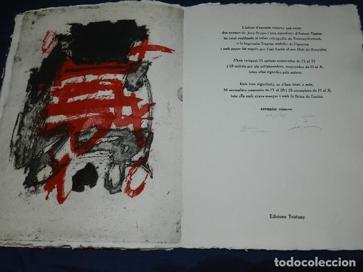Arte: (M) EL REY DE LA MAGIA JOAN BROSSA - ANTONI TAPIES CONTIENE 3 AGUAFUERTES DE ANTONI TAPIES 75 EJEM - Foto 8 - 209984887