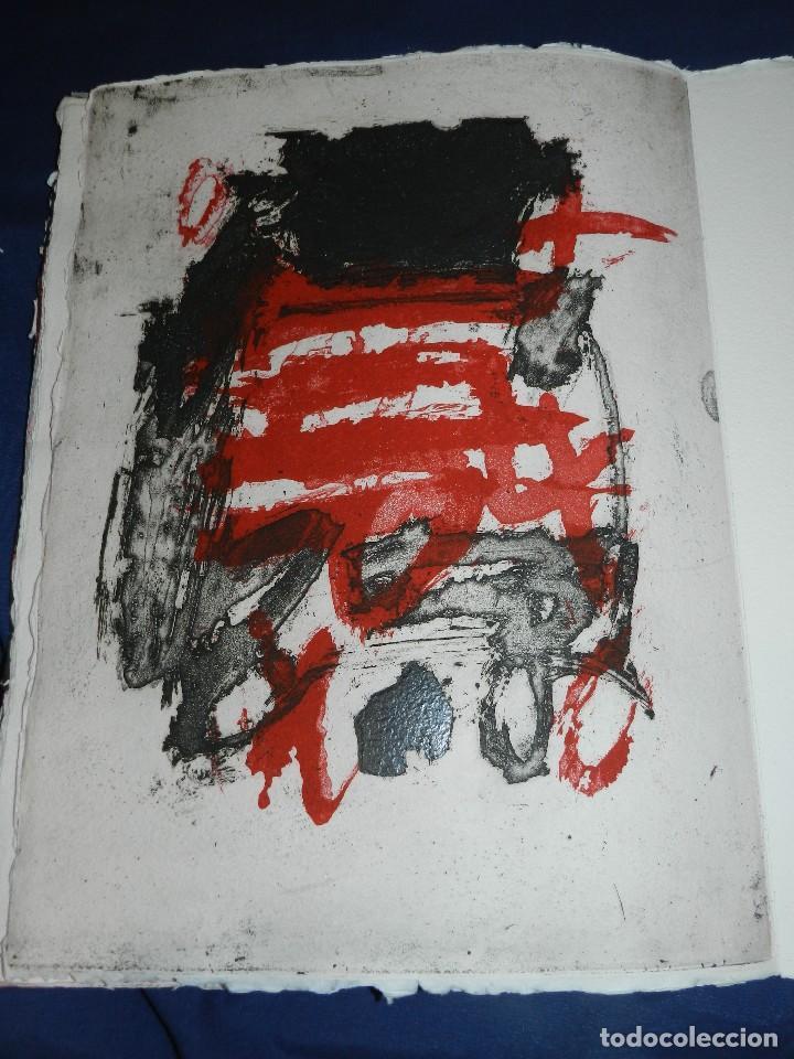 Arte: (M) EL REY DE LA MAGIA JOAN BROSSA - ANTONI TAPIES CONTIENE 3 AGUAFUERTES DE ANTONI TAPIES 75 EJEM - Foto 9 - 209984887