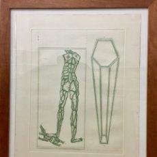 Arte: LA PELL, GRABADO DE JOAN PONÇ. Lote 109559947