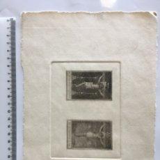 Arte: GRABADO FINALES S. XIX. EL SS. CRISTO DE S. SALVADOR.. Lote 109815878