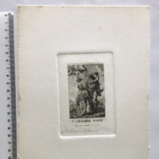 Arte: GRABADO FINALES S. XIX. SN. CARLAMPIO MÁRTIR. ABOGADO CONTRA LA PESTE.. Lote 109815967