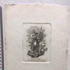 Arte: GRABADO FINALES S. XIX. SN. JUDAS TADEO. ESPL. ABO. PARA NO MORIR SIN CONFN.. Lote 109820231
