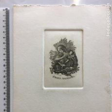 Arte: GRABADO FINALES S. XIX. STA. MARÍA MAGDALENA. F. JORDAN LO GO.. Lote 109822247