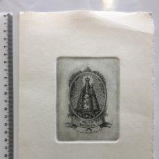 Arte: GRABADO FINALES S. XIX. NA. SA. DEL CASTILLO DE CHIVA.. Lote 109822520