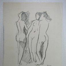 Arte: GRABADO Y FIRMADO EN PLANCHA DE PERE PRUNA OCERANS. Lote 110285495