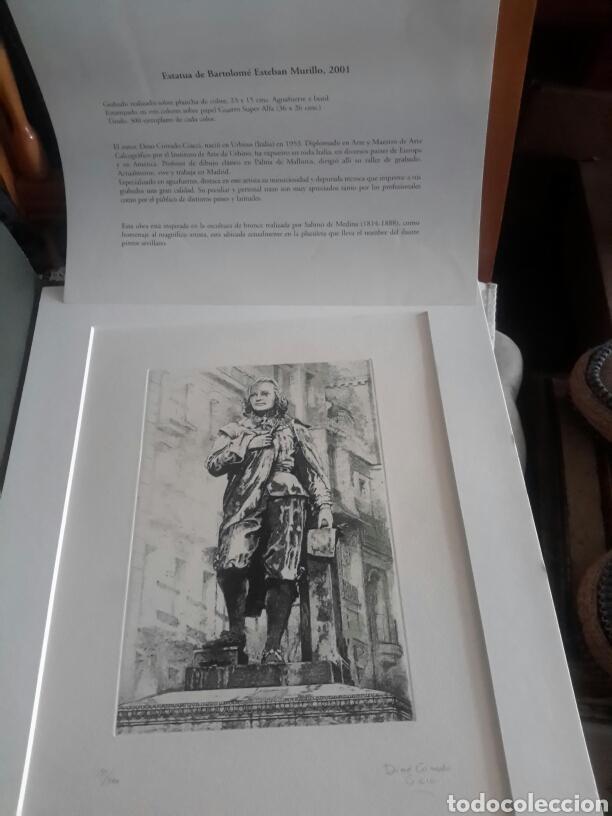 GRABADO DE MURILLO, REALIZADO POR DINO CORRADO FIRMADO Y NUMERADO (Arte - Grabados - Contemporáneos siglo XX)