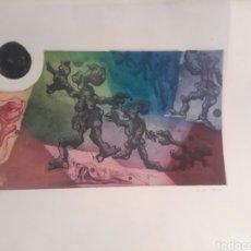 Arte: GRABADO FIRMADO POR MERCEDES DE LA ZARZA. Lote 110885518