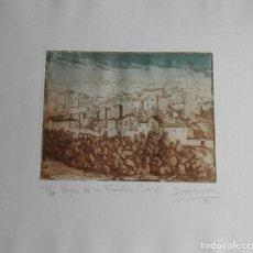 Arte: GRABADO DEL ARTISTA DE NAVARRA, JOSÉ Mª DIAZ MOZAZ. Lote 111982935