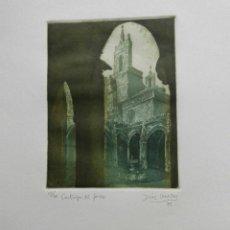 Arte: GRABADO DEL ARTISTA DE NAVARRA, JOSÉ Mª DIAZ MOZAZ. Lote 111983799