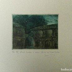 Arte: GRABADO DEL ARTISTA DE NAVARRA, JOSÉ Mª DIAZ MOZAZ. Lote 111985919
