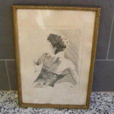 Arte: GRABADO - BORIU - 3/40 PATRICK LAYMAND 79.FIRMADO A LAPIZ.. Lote 112179847
