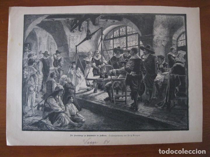 COMPRA DE ESCLAVA, 1884. ANÓNIMO (Arte - Grabados - Modernos siglo XIX)