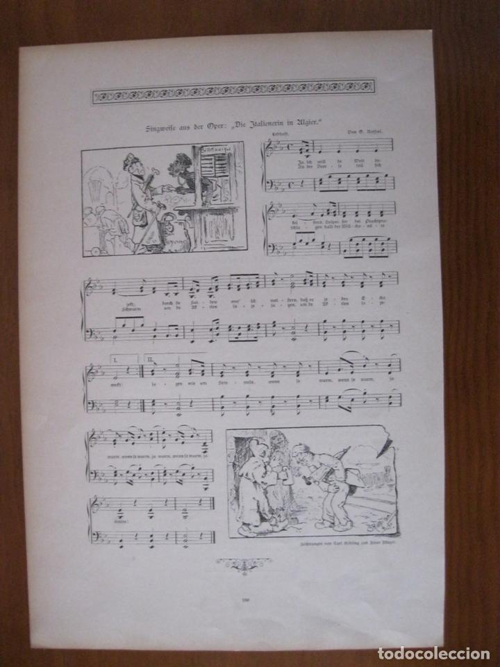 Arte: Cánticos alemanes, 1888. Anónimo - Foto 2 - 112183463