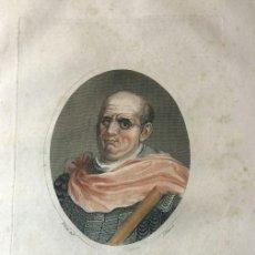 Arte: GRABADO DE CESAR VESPANIAN, S.XIX, PARA LA ENCICLOPEDIA LONDINENSE 1826. Lote 112459115