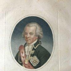 Arte: GRABADO, S.XIX, DE PABLO PRIMERO, EMPERADOR DE RUSIA, PARA LA ENCICLOPEDIA LONDINENSE 1826. Lote 112460803
