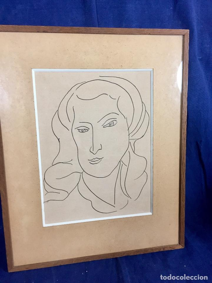 impresion tinta negra monique retrato mujer mat - Comprar Grabados ...