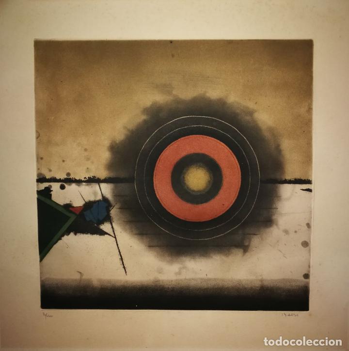 Arte: TUVIA BEERI - PUESTA DE SOL - FANTÁSTICA OBRA FIRMADA Y NUMERADA - Foto 2 - 112868883
