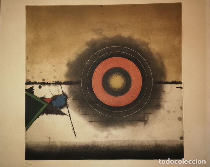 Arte: TUVIA BEERI - PUESTA DE SOL - FANTÁSTICA OBRA FIRMADA Y NUMERADA - Foto 3 - 112868883