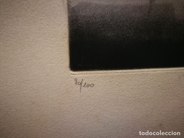 Arte: TUVIA BEERI - PUESTA DE SOL - FANTÁSTICA OBRA FIRMADA Y NUMERADA - Foto 5 - 112868883