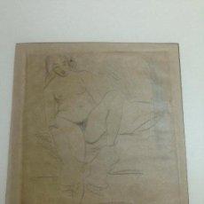 Arte: GRABADO AGUAFUERTE EROTICO PRINCIPIOS XX. Lote 113033115