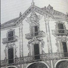 Arte: EXCEPCIONAL GRABADO 1844. ORIGINAL. PALACIO DE OÑATE. DIFICILISIMO. EL LABERINTO. Lote 113536827