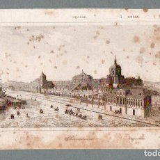 Arte: RUSIA - ORIANENBAUM - GRABADO LEMAITRE HUGUENET. Lote 113586026