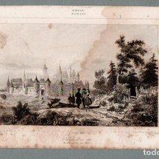 Arte: RUSIA - SMOLENSKO EN 1617 - GRABADO LEMAITRE DANVIN LALAISSE. Lote 113586267