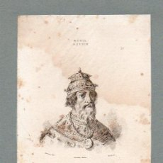 Arte: RUSIA - IVAN EL TERRIBLE - GRABADO LEMAITRE VERNIER MORET. Lote 113588131
