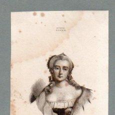 Arte: RUSIA - ELISABETH - GRABADO LEMAITRE VERNIER MANCEAU. Lote 113588763
